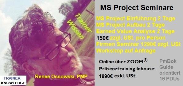 Auch MS Project hilft Projektmanagement zu unterstützen. MS Project ist quasi der Spiegel der Methoden.