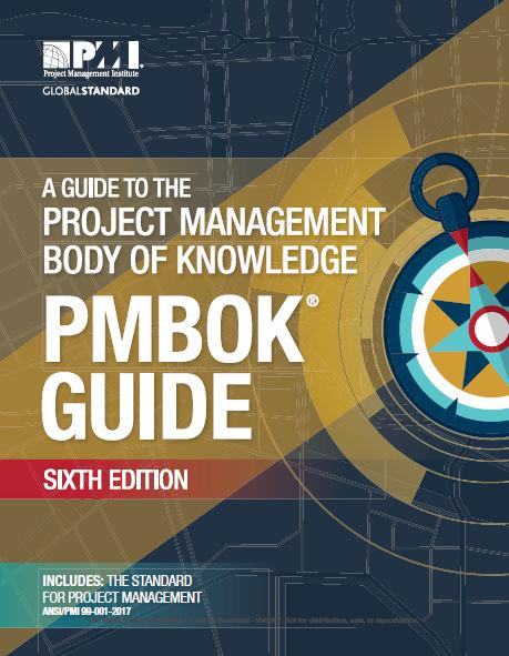 Der PmBok Guide wird gezeigt.
