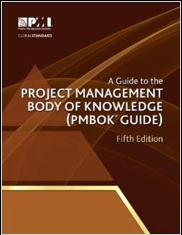 Man sieht den PmBok Guide 5th