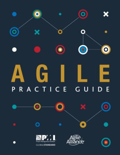 Das Bild zeigt den Agile Practice Guide