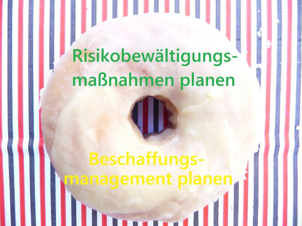 Ein Donut für Prozesse des PmBok Guides, z.B. Beschaffungsmanagement planen