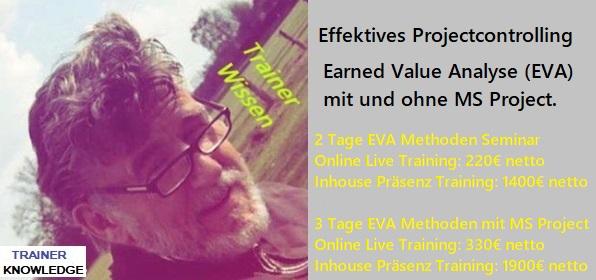 Earned Value Management ist Projektmanagement im Kontext der Überwachung- und Steuerungsprozesse.