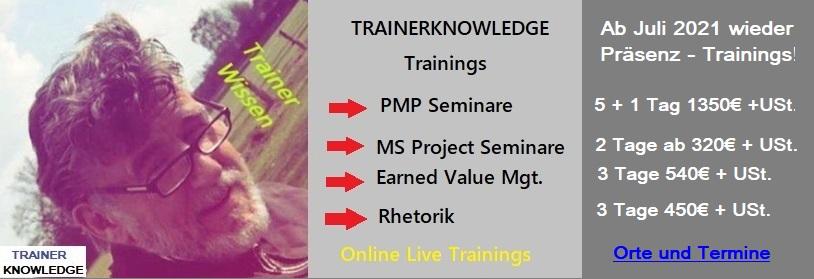 Werbung für Seminare